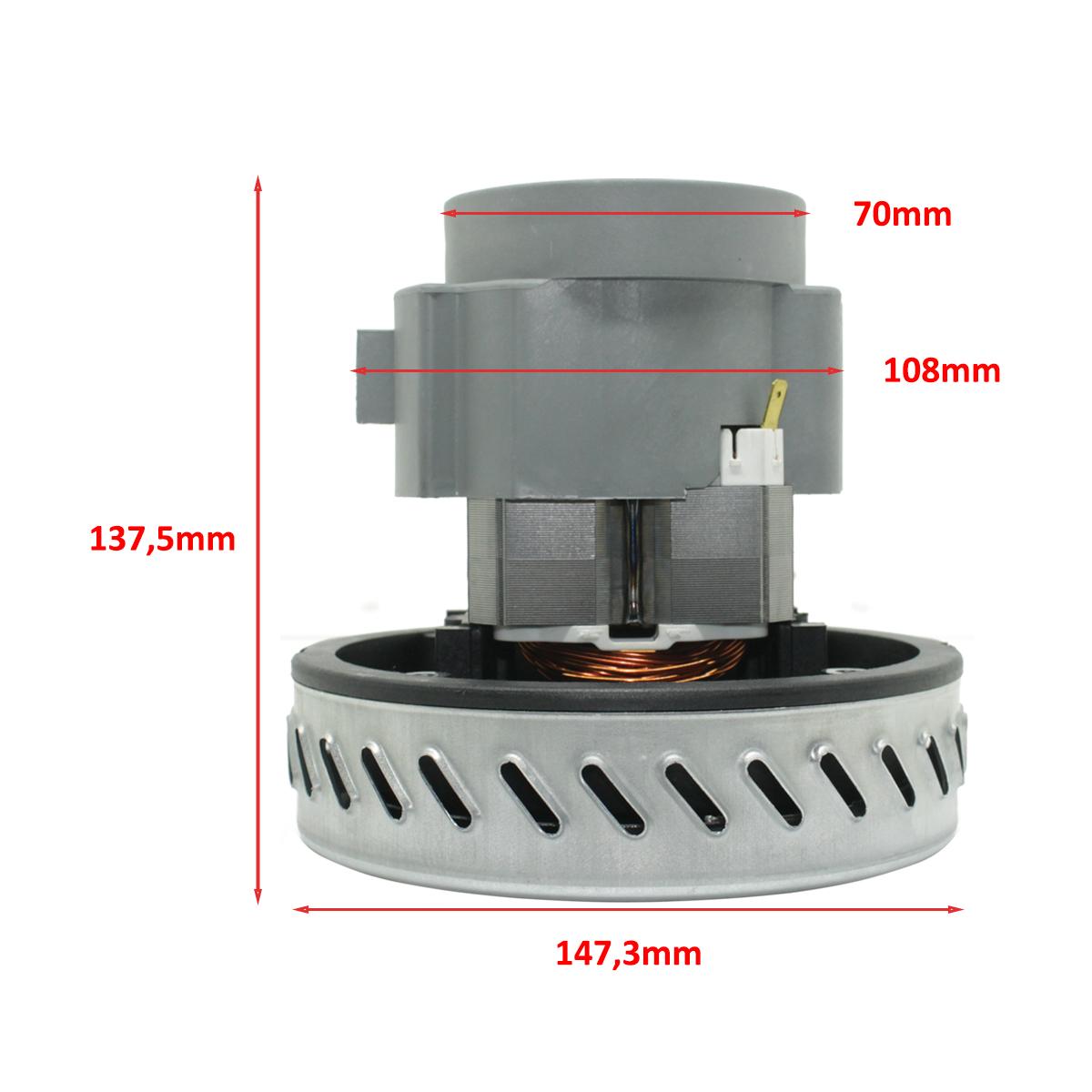 Motor p/ Extratora IPC Lavaclean 127v 1200w Original