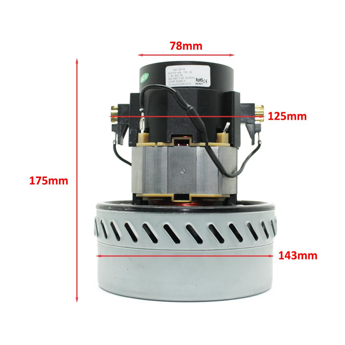 Motor p/ Extratora Wap Carpet Cleaner Pro 50 e 35 220v Original