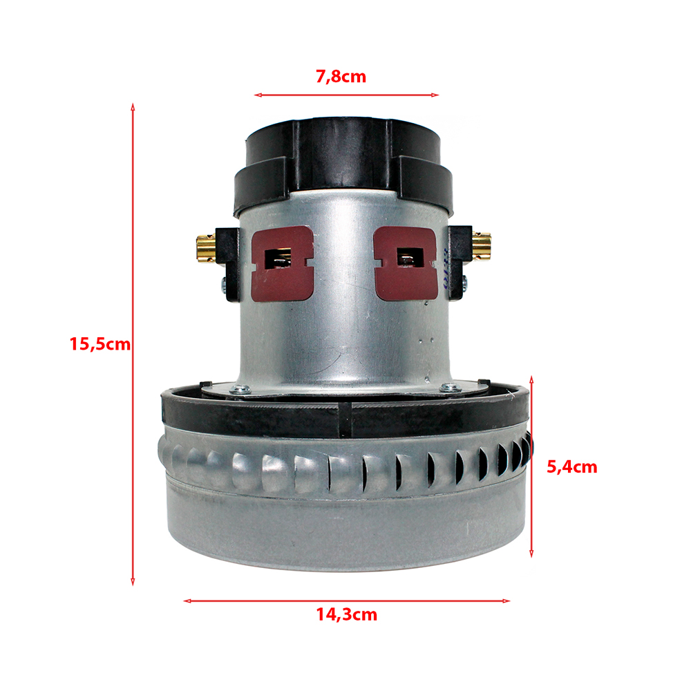 Motor para Aspirador Wap GT Turbo, GT Profi, Turbo 2001, Turbo 2002 e Extratora Carpet Cleaner 220v 1600w Original