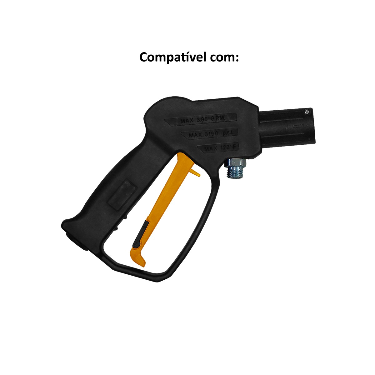 Baioneta para Lavadora de Alta Pressão Wap Fera, Fit, Forte, Ousada, Atacama Smart Original