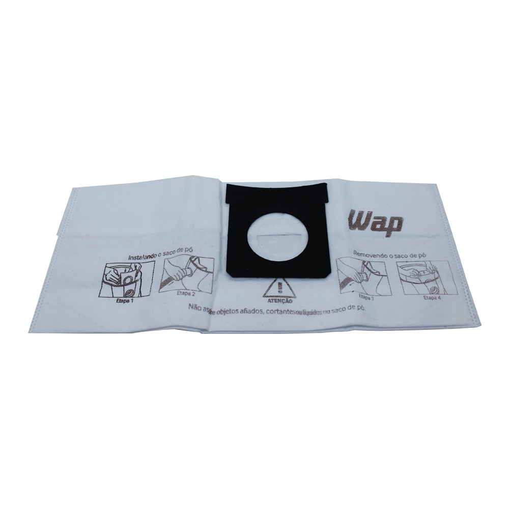 Saco descartável de pó para Extratora Wap Multi Cleaner