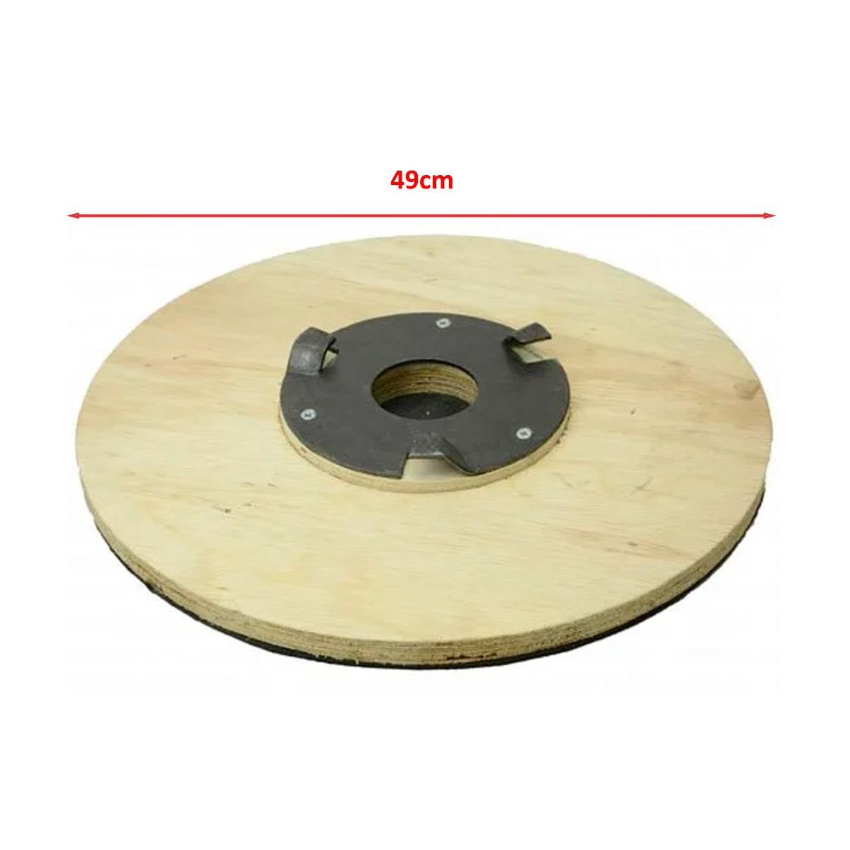 Suporte de disco para Enceradeira Cleaner CL510 C/ Flange
