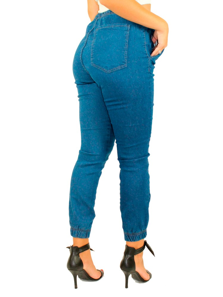 Calça Jogger Feminina azul