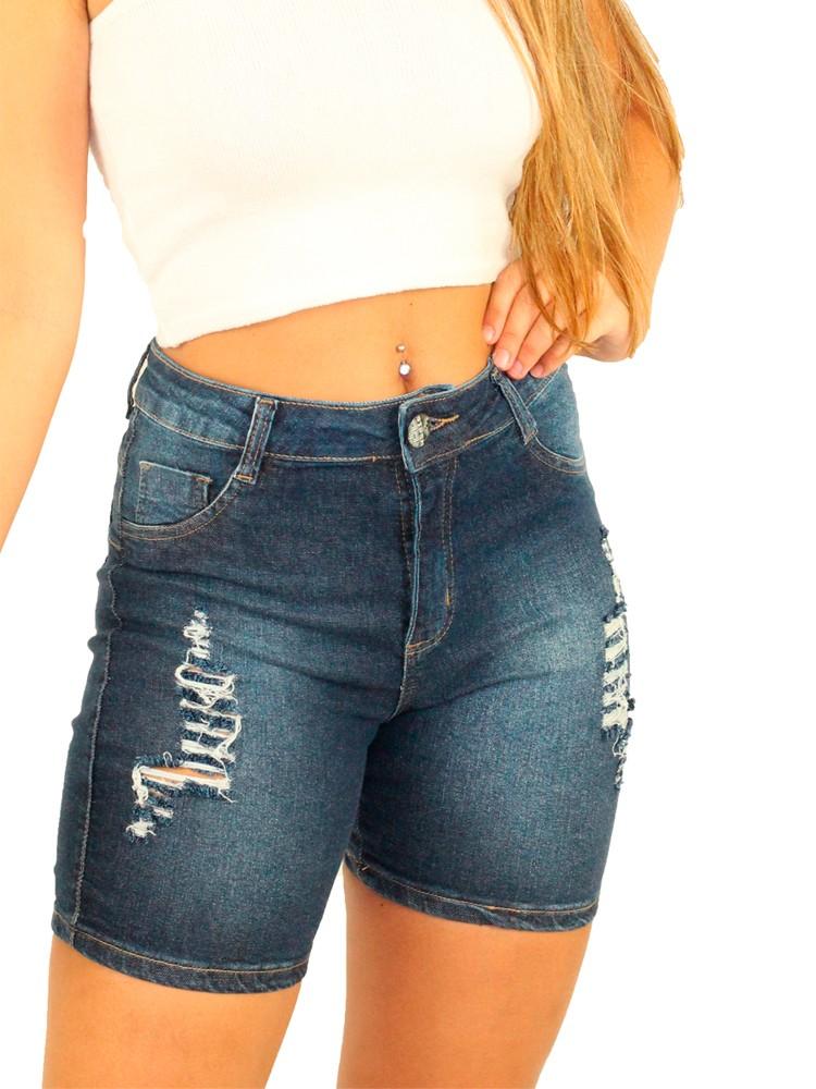 Short Jeans Vitoria Giletado