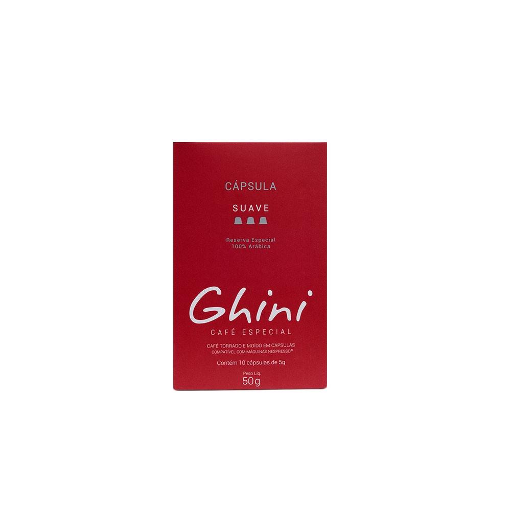 Café em Capsula Suave Compatível com Nespresso  - Café Ghini