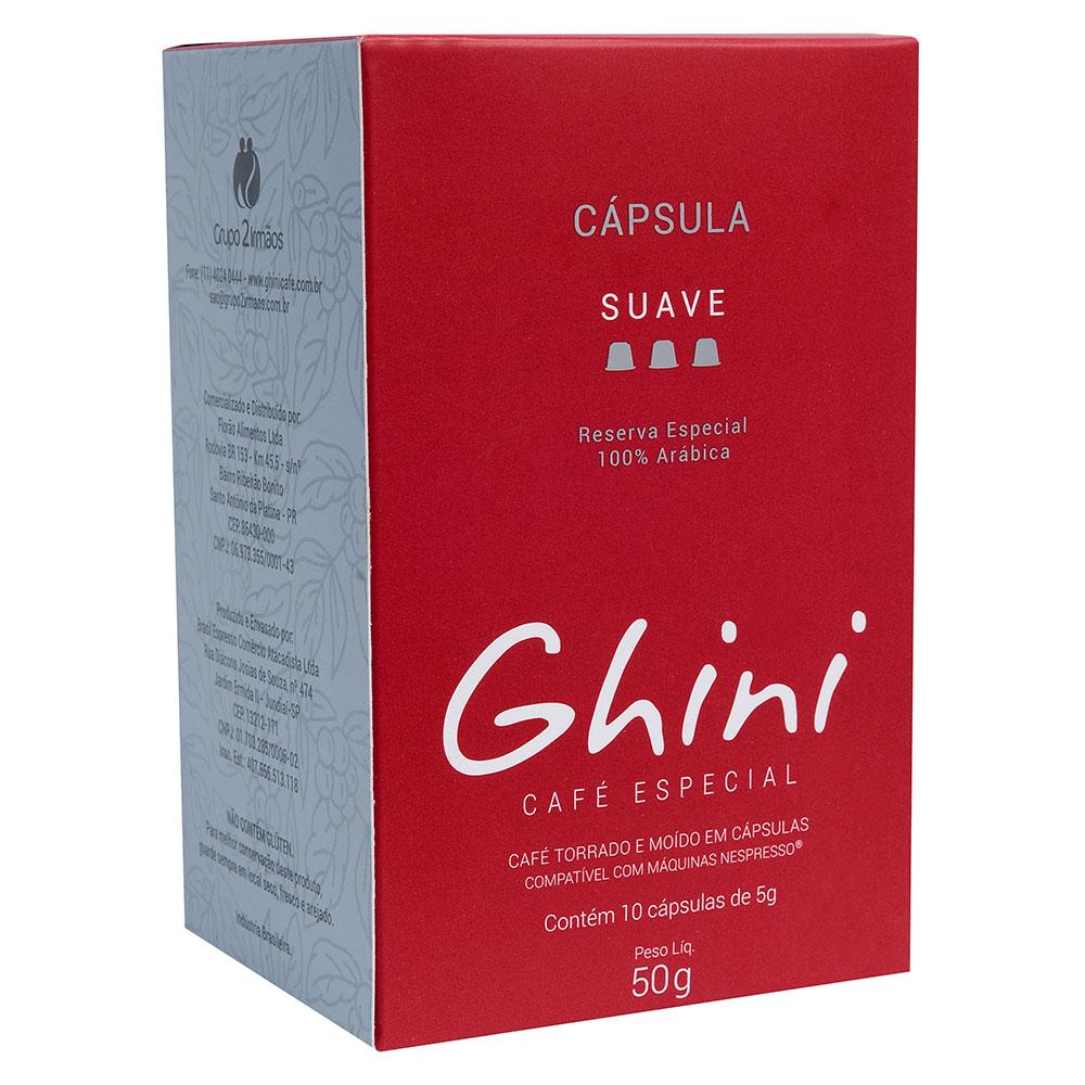 Café em Capsula Suave Compatível com Nespresso®  - Café Ghini