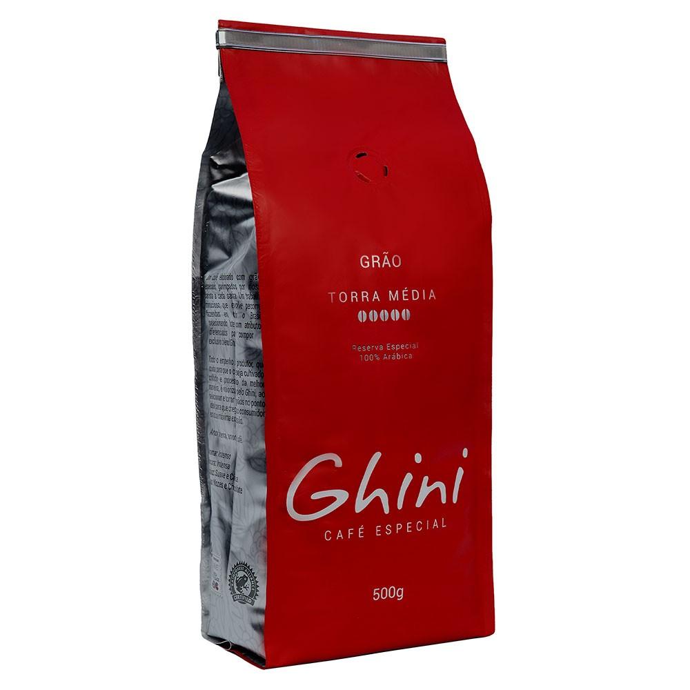 Café em Grãos Torrado 500g  - Café Ghini