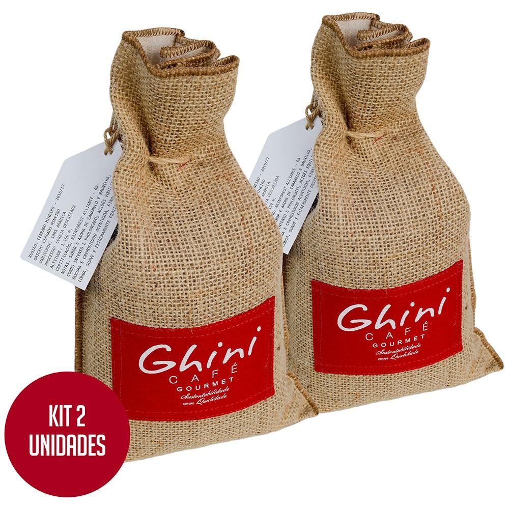 Kit Café Verde em Grãos 1kg - 2 Unid  - Café Ghini