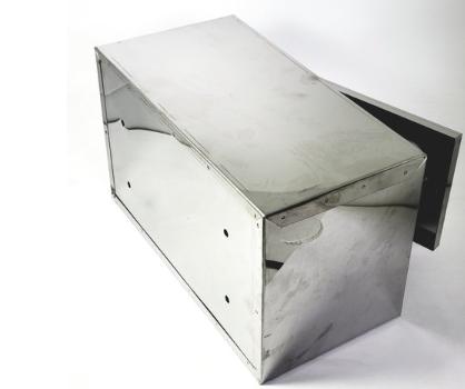 Caixa de Correio Inox  Frontal Complemento  - Panelas Ferreira