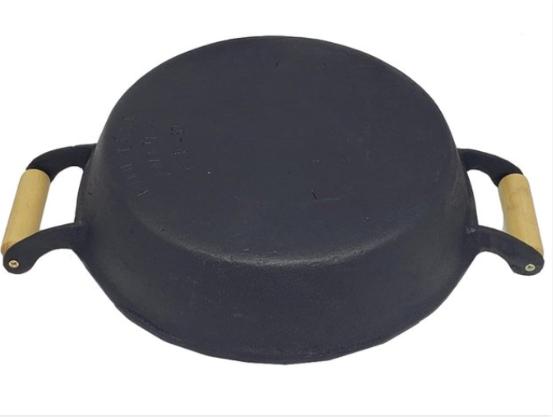 Frigideira de Ferro AM T/Alumínio 38 cm  - Panelas Ferreira