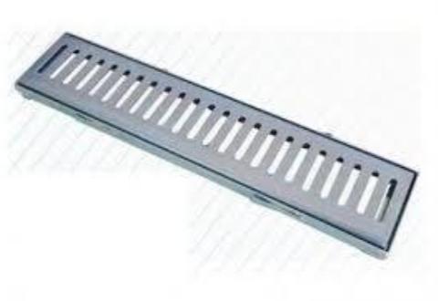 Grelha de Aço com caixilho 15x100