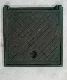 Tampão de Ferro Fundido Articulado 30x30 cm  - Panelas Ferreira