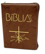 Bíblia Sagrada de Aparecida Bolso Ziper Flexível
