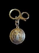 Chaveiro Medalha de São Bento em Metal