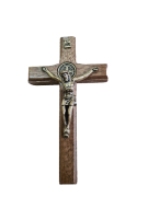 Crucifixo Madeira 9cm