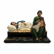 Maria Dormindo - Deixemos a Mãe Descansar - 30cm
