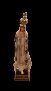 Nossa Senhora de Fátima importada florida 9cm