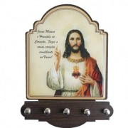 Porta chave Sagrado Coração de Jesus