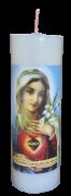Vela 7 dias - Imaculado Coração de Maria