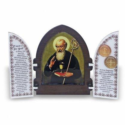 Capela com porta de São Bento