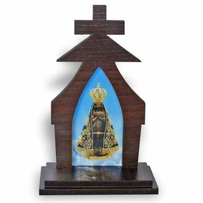 Capela Nossa Senhora Aparecida MDF 17cm