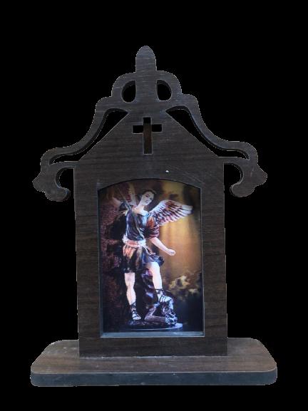 Capelinha de São Miguel 3D em MDF