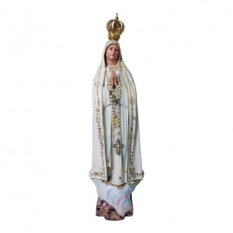 Nossa Senhora de Fátima em Resina - 93cm