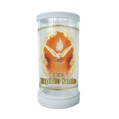 Porta Vela Vidro e Mármore Divino Espírito Santo