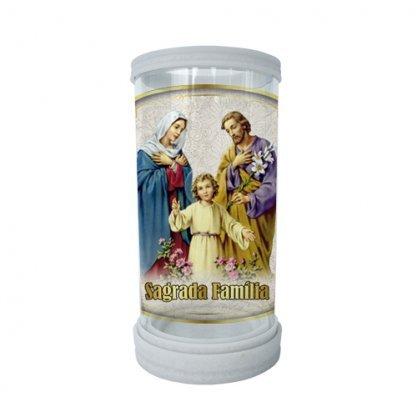Porta Vela Vidro e Mármore Sagrada Família