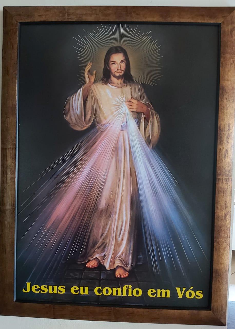 Quadro Jesus Misericordioso 50x70