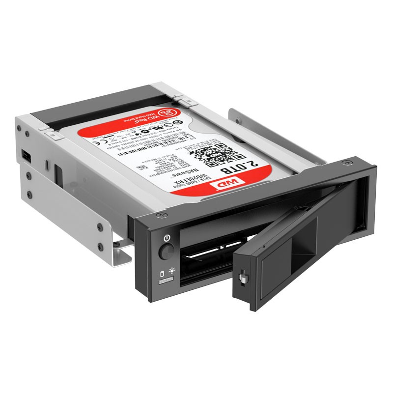 Adaptador Gaveta Rack HD 3.5 Sata Baia Frontal - 1106SS-V1
