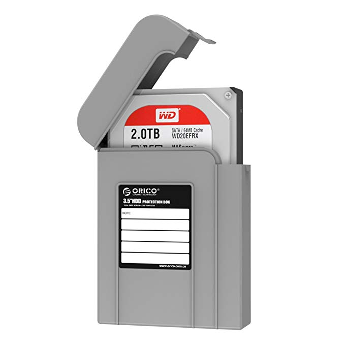 Capa / Case Protetora para HD / SSD 3.5 - PHI35-V1