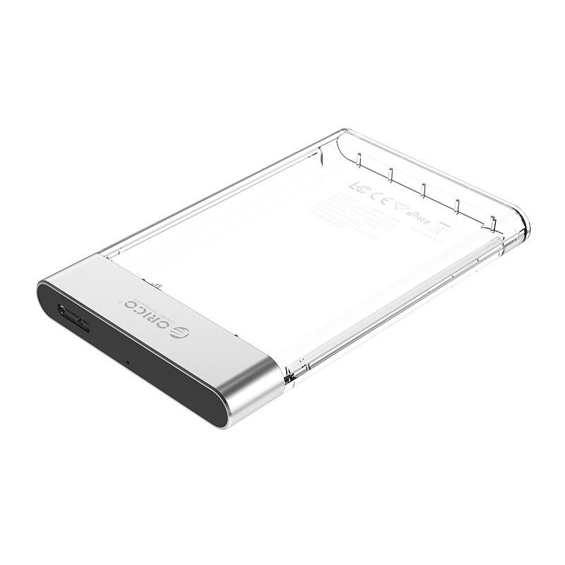 Case / Gaveta para HD SATA 2.5 USB 3.0 - Transparente - 2129U3