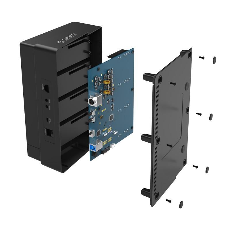 Dock Station SATA 2.5 e 3.5 com 4 Entradas - Função Clone Offline - 6648US3-C-V1