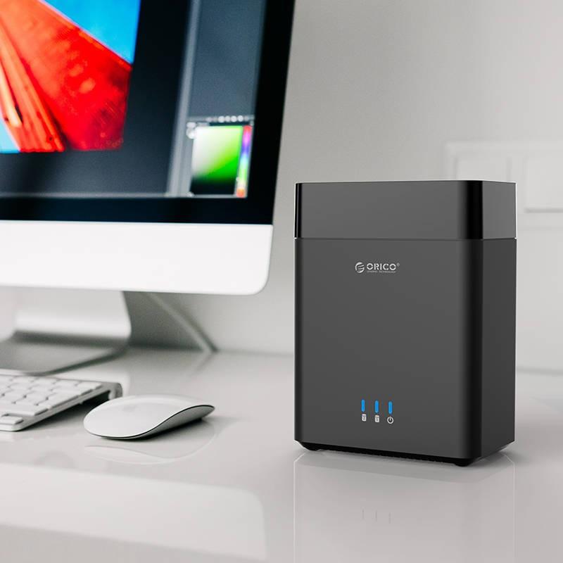 HD Storage 2 Baias Magnéticas - USB 3.0 - DS200U3