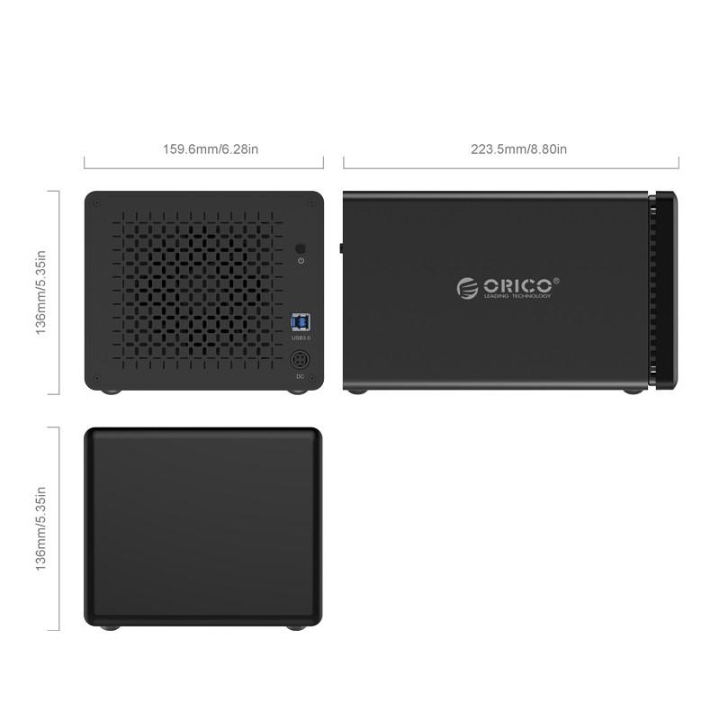 HD Storage 5 Baias - USB 3.0 - NS500-U3
