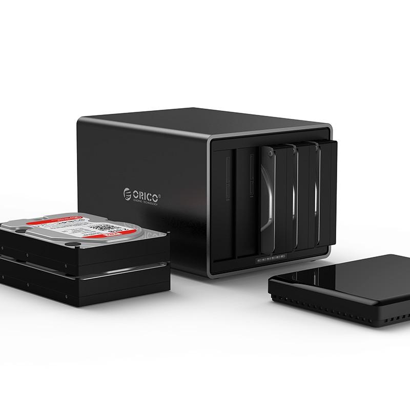 HD Storage 5 Baias - USB 3.1 Type-C - NS500-C3