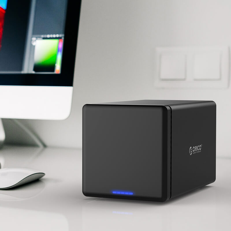HD Storage RAID 4 Baias - USB 3.0 - NS400RU3