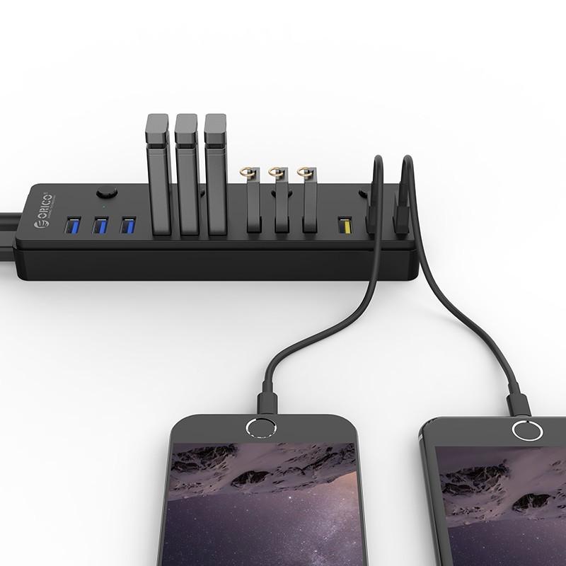 Hub USB 3.0 - 12 Portas - 9 Portas USB 3.0 + 3 Portas 2.4a - P12-U3