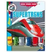Brincar-aprender-colorir: Supertrens
