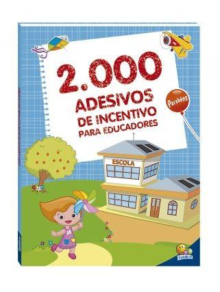 2000 Adesivos de Incentivos para Educadores