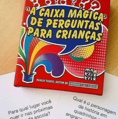 A Caixa Magica de Pergunta para Crianças