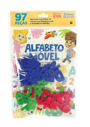 Alfabeto Móvel - Letras e Números