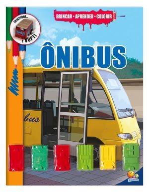 Brincar-aprender-colorir: Ônibus