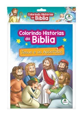 Colorindo histórias da Bíblia-Kit c/10 Und.