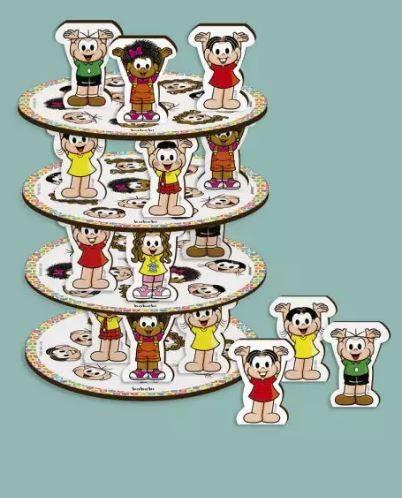 Empilhe a Torre - Turma da Monica
