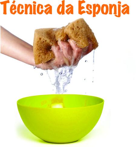 Kit Técnica da Esponja