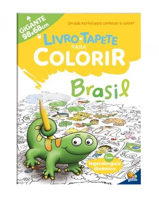 Livro-Tapete para Colorir