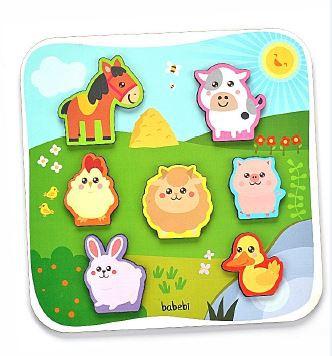 Quebra-cabeça Animais da Fazenda