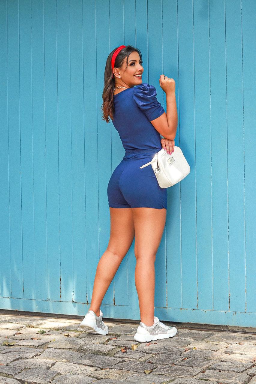 Conjunto de shorts saia